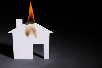 Определение очага пожара