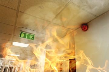 Анализ возникновения открытого пламени